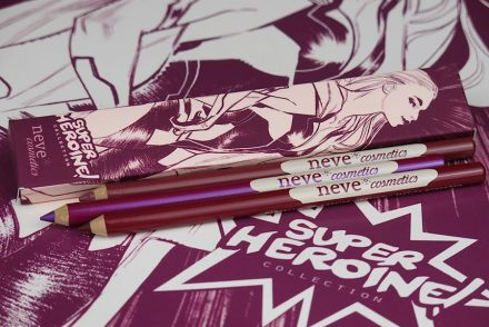 superheroine collection neve cosmetics recensione swatches