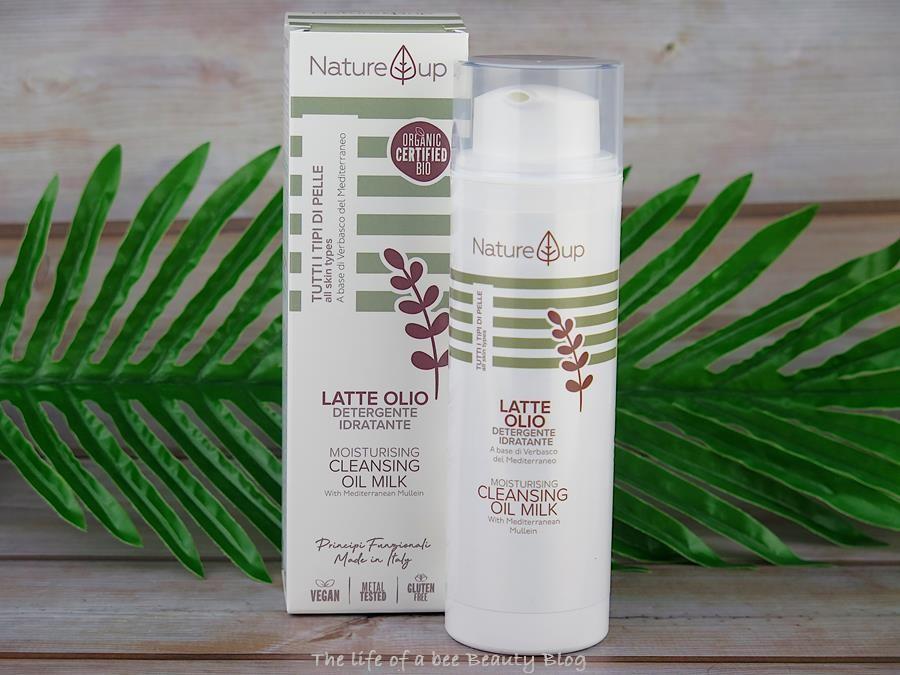 bema cosmetici nature up recensione review latte olio