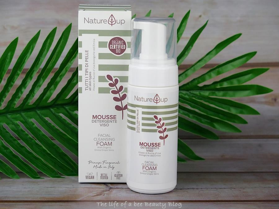 bema cosmetici nature up recensione review mousse detergente