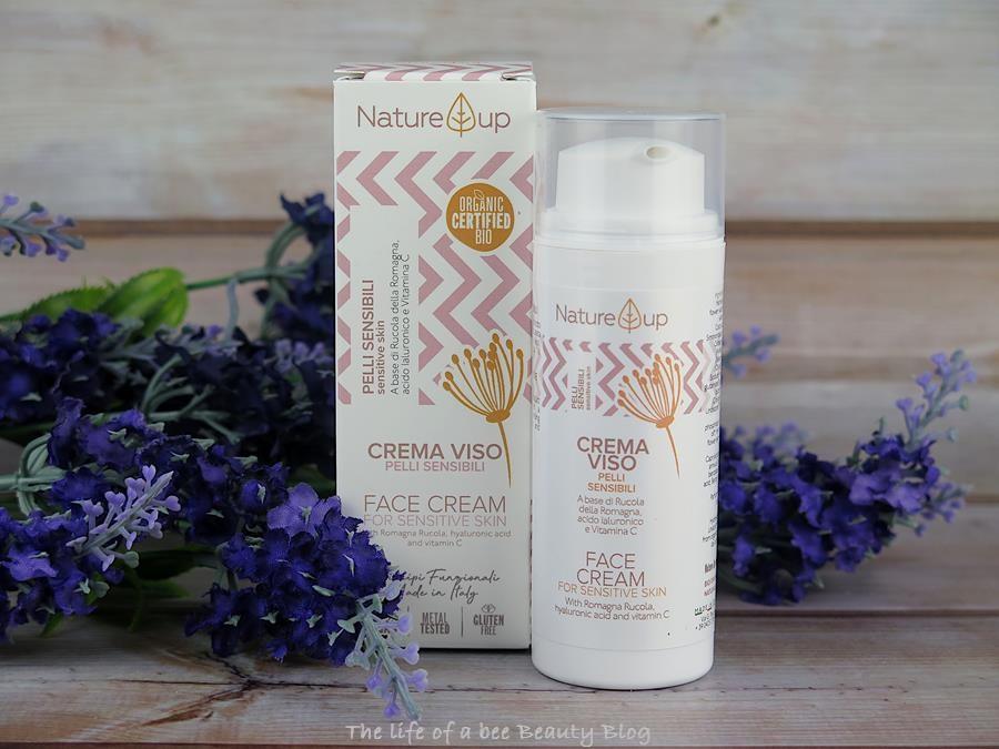 bema cosmetici nature up recensione crema viso pelli delicate