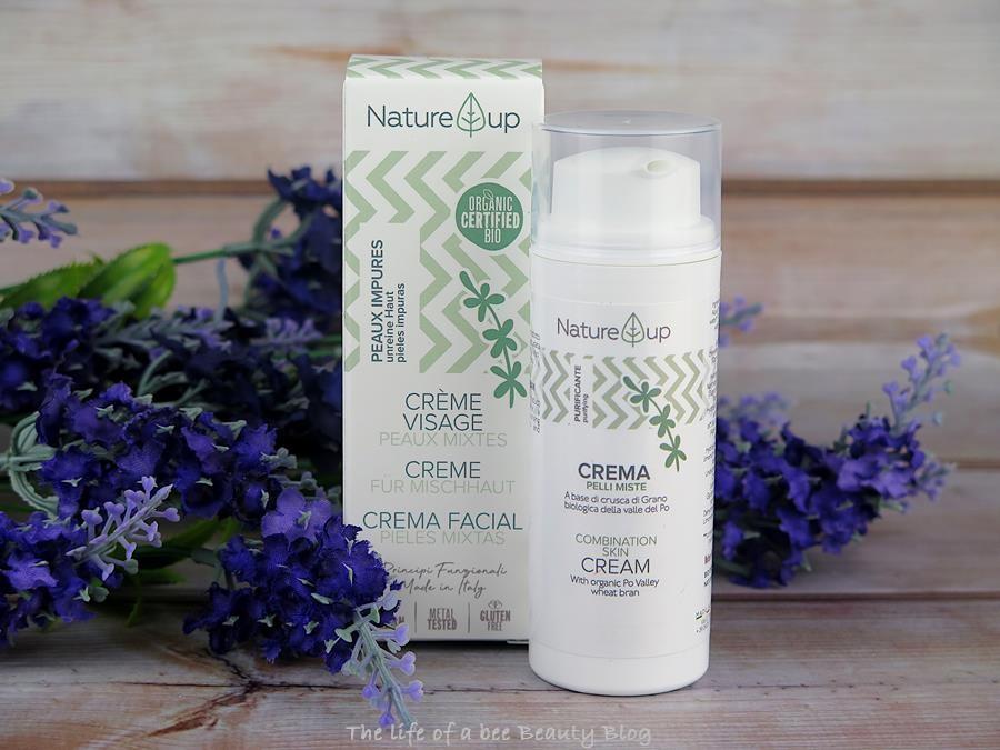bema cosmetici nature up recensione crema viso pelli miste