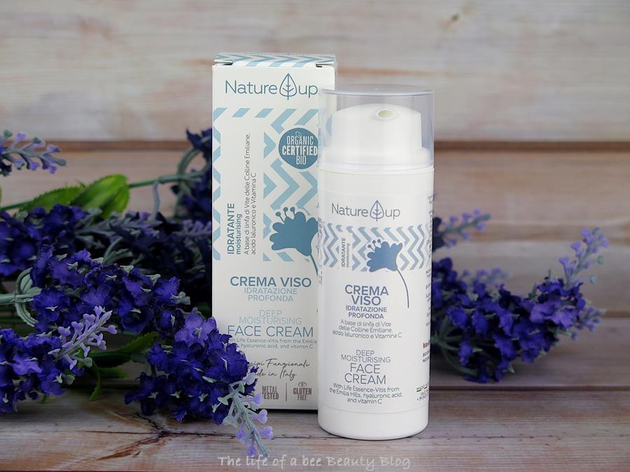 bema cosmetici nature up recensione crema viso idratazione profonda