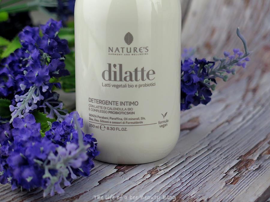 dilatte nature's biosline detergente intimo