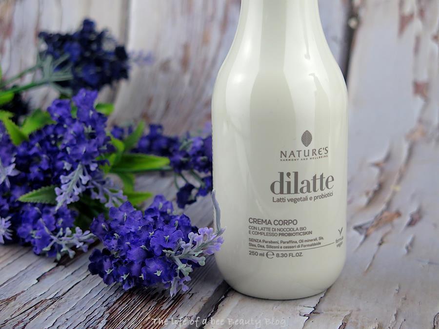dilatte nature's biosline crema corpo