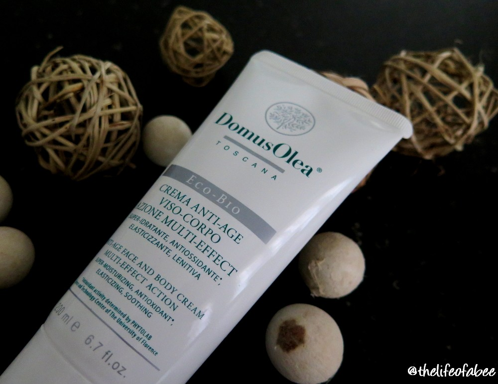crema antiage viso corpo domus olea