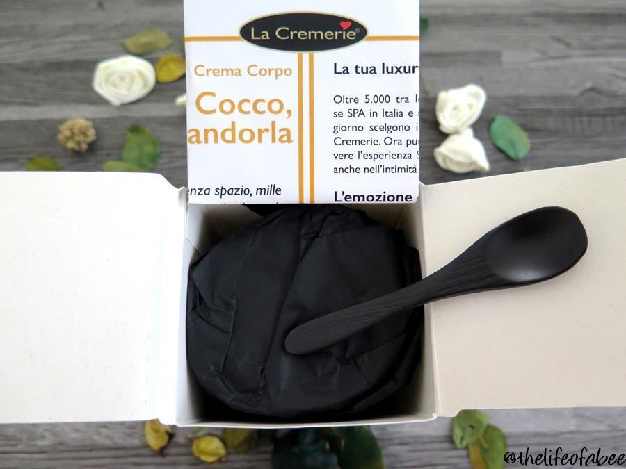 la cremerie crema cocco papaya mandorla