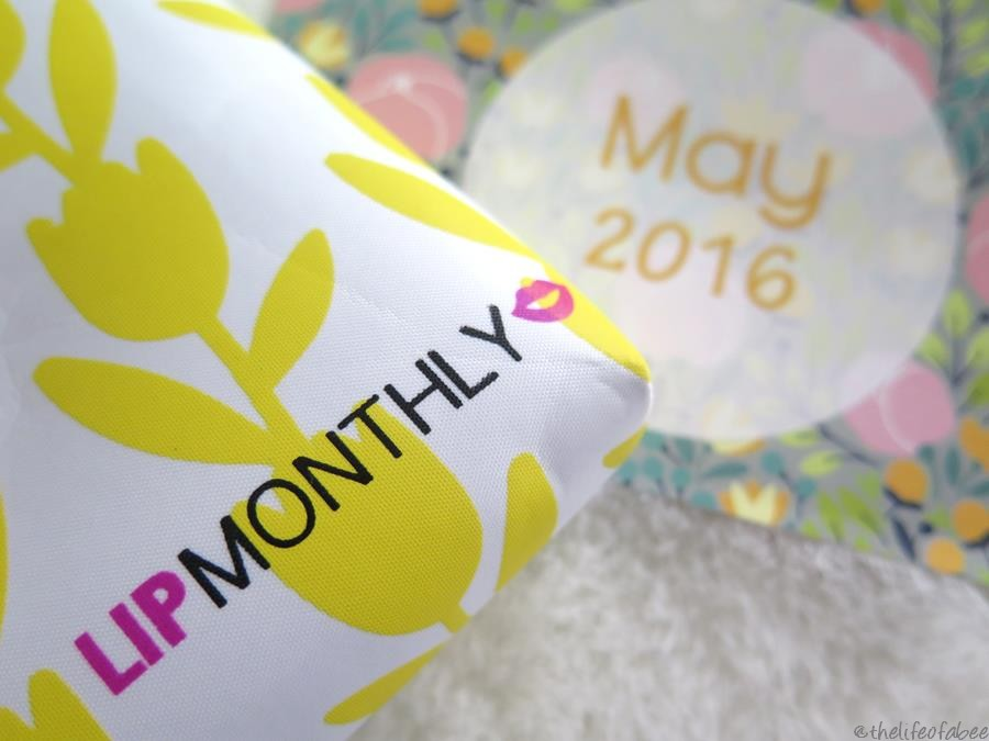 lip monthly bag maggio