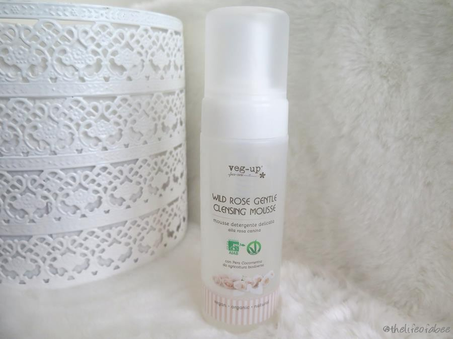 veg up cleansing mousse recensione