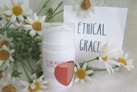 ethical grace recensione crema sebo equilibrante tesori nascosti