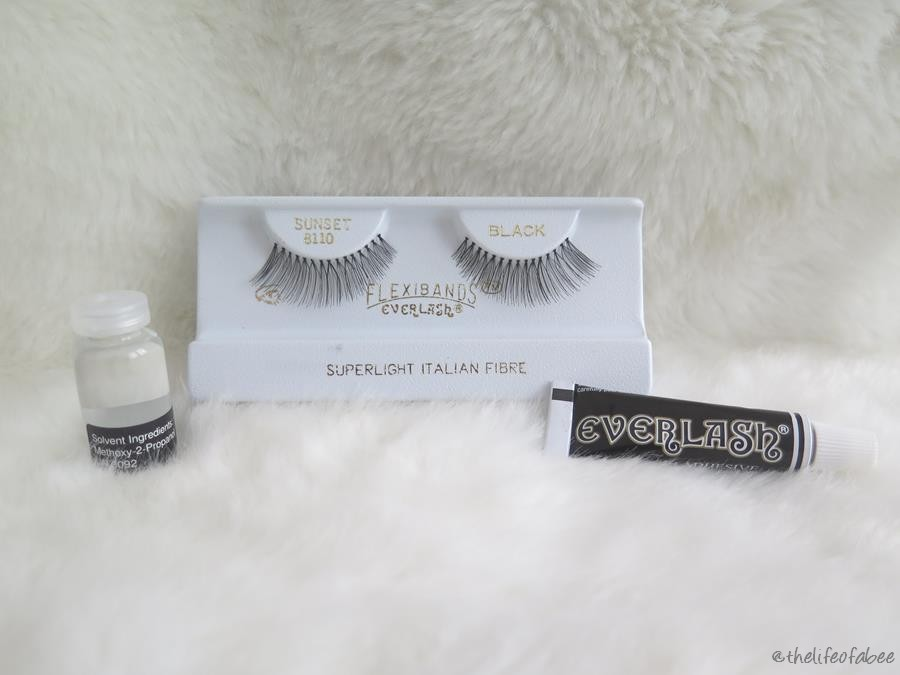everlash recensione flexibands ciglia finte sunset