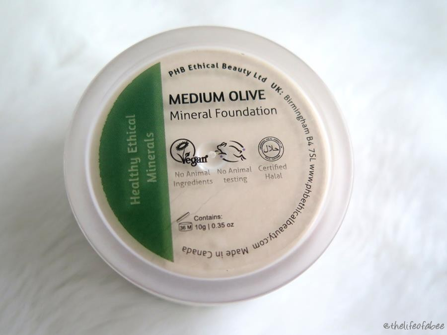 RECENSIONE PHB ETHICAL BEAUTY FONDOTINTA IN POLVERE MINERAL FOUNDATION LOOSE POWDER