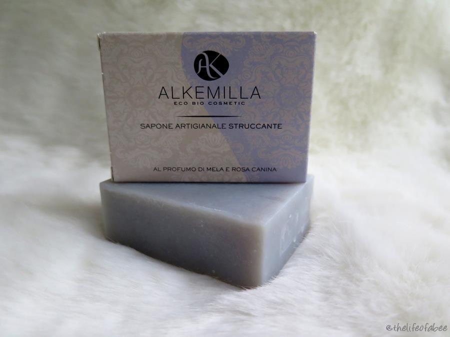 recensione sapone struccante alkemilla saqed