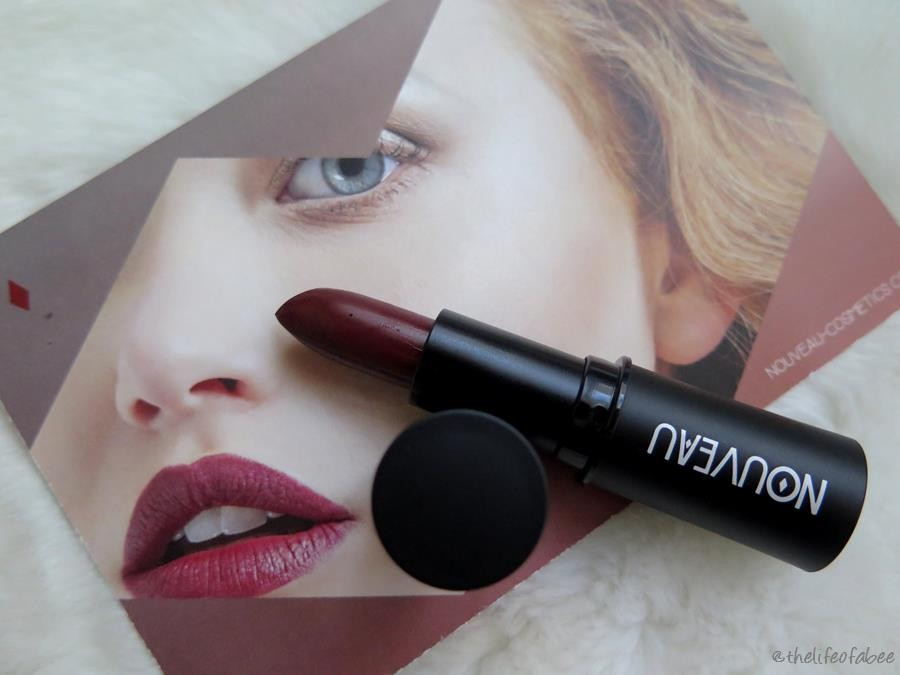 nouveau cosmetics grape recensione swatch