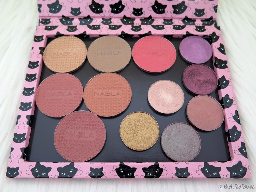 Fibi Cosmetics recensione palette magnetiche kitty