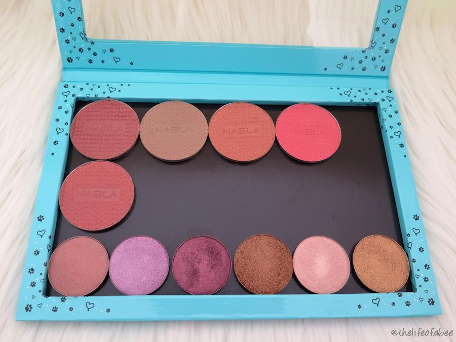 Fibi Cosmetics recensione palette magnetiche lovely