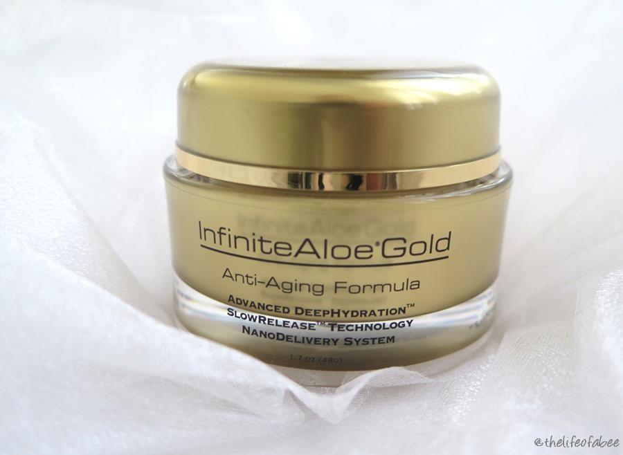 Recensione infinite aloe skin care scrub gold