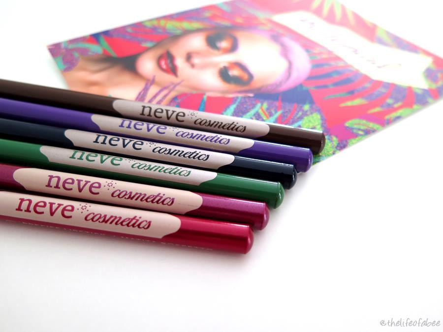 psicotropical collection neve cosmetics recensione swatch pastello