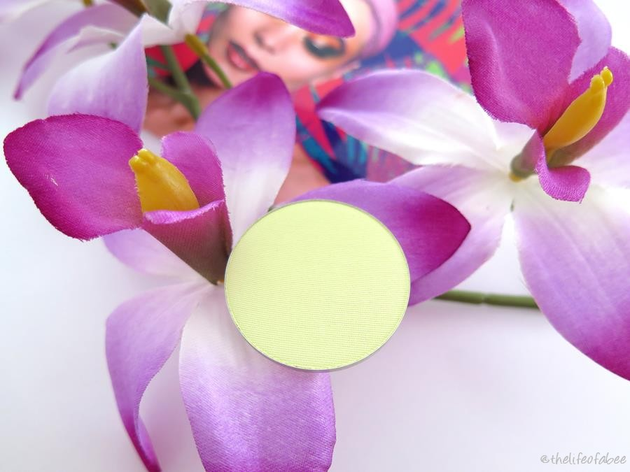 psicotropical neve cosmetics swatch ombretto fly