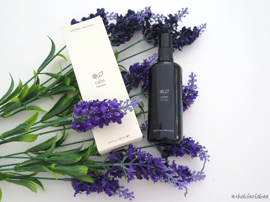 bottega organica recensione review calm face mist