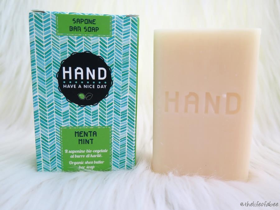 Hand il saponino recensione review sapone alla menta