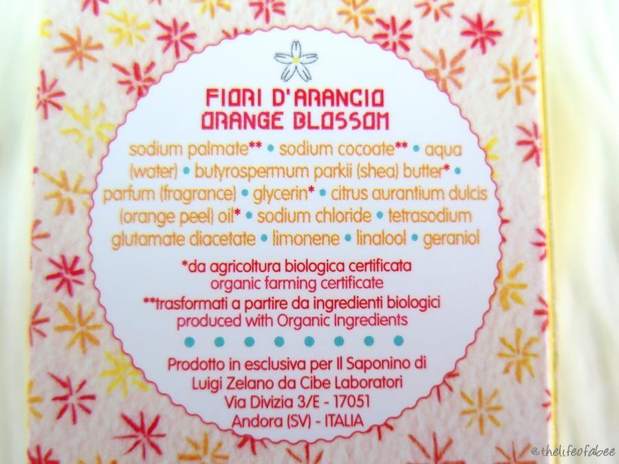 Hand il saponino recensione review sapone ai fiori d'arancio