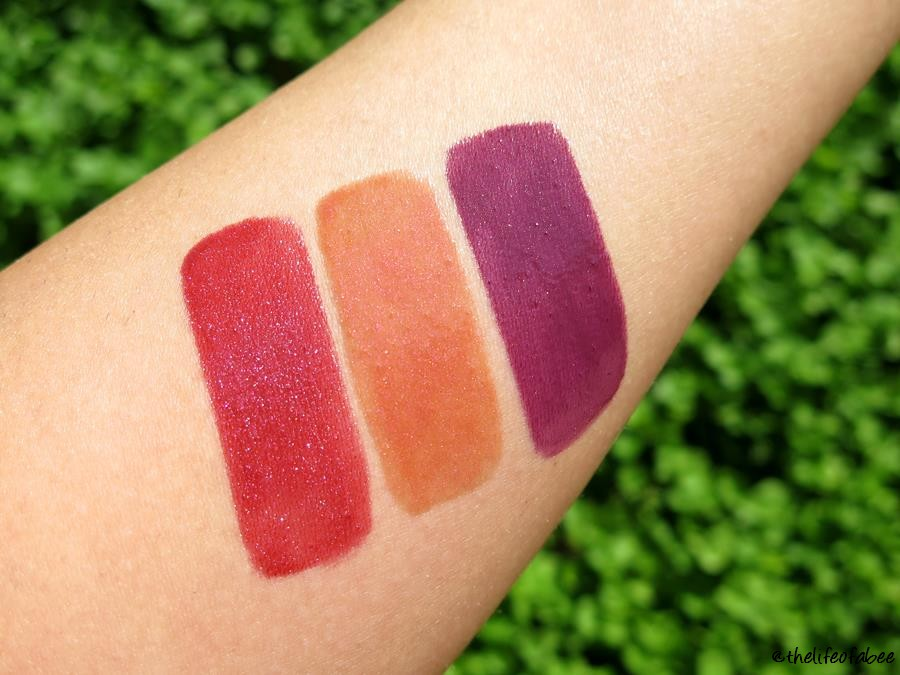 vernissage neve cosmetics swatch voyage of life allegoria della primavera plum brandy