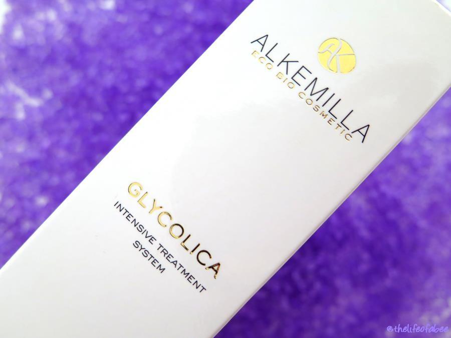 glycolica alkemilla pre trattamento acido recensione review