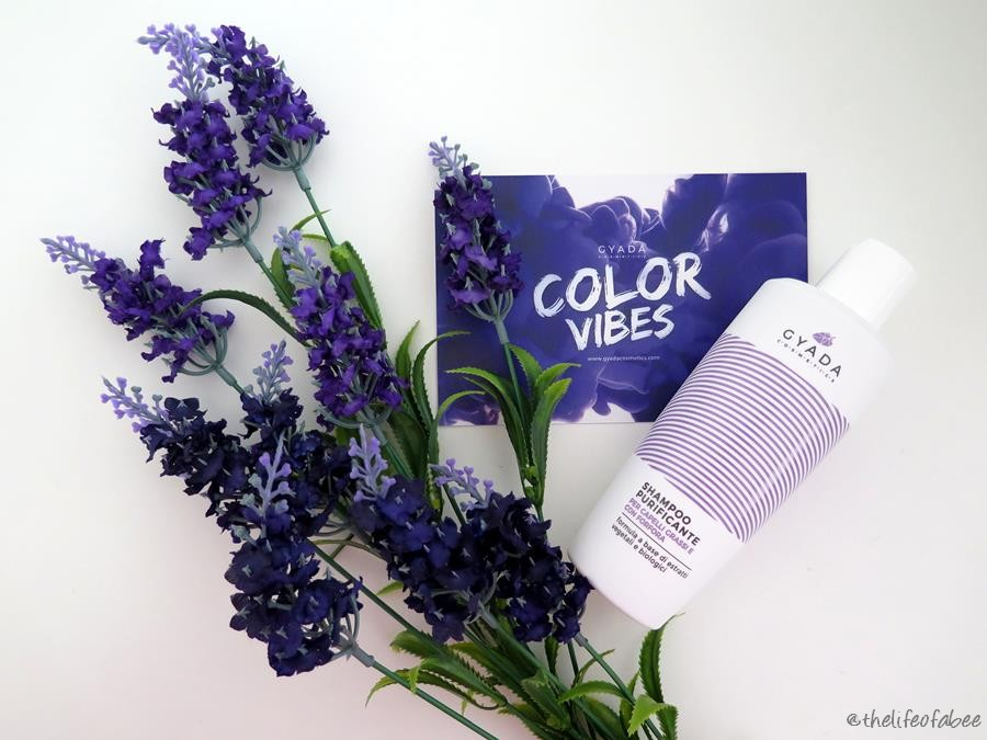 color vibes gyada cosmetics recensione review shampoo purificante