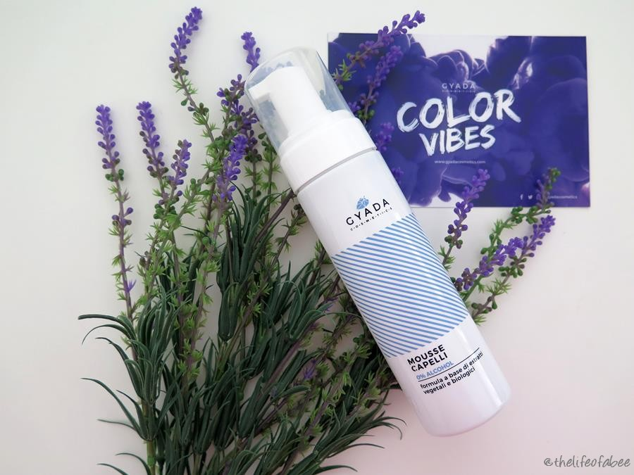 color vibes gyada cosmetics recensione review mousse capelli