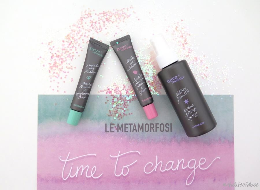 le metamorfosi neve cosmetics recensione review