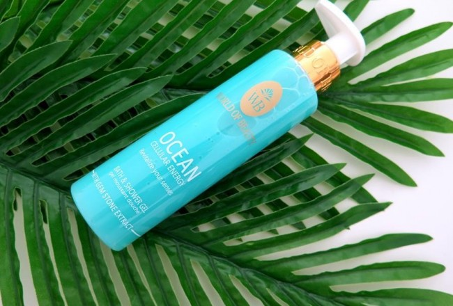 Ocean Cellular Energy Shower Gel world of beauty recensione review