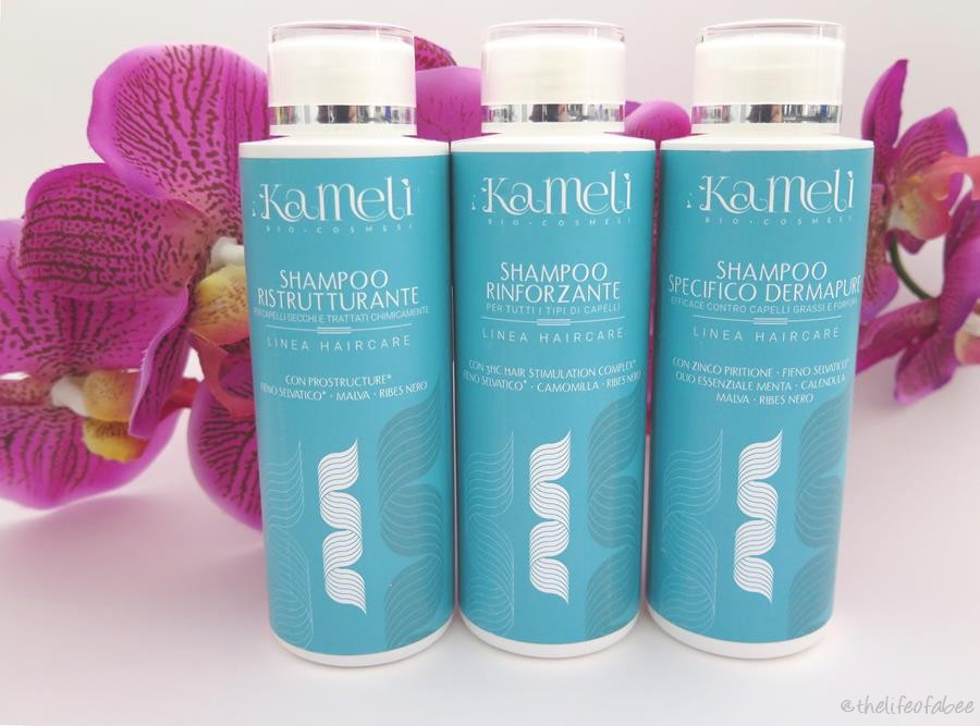 kamelì linea hair care recensione review shampoo