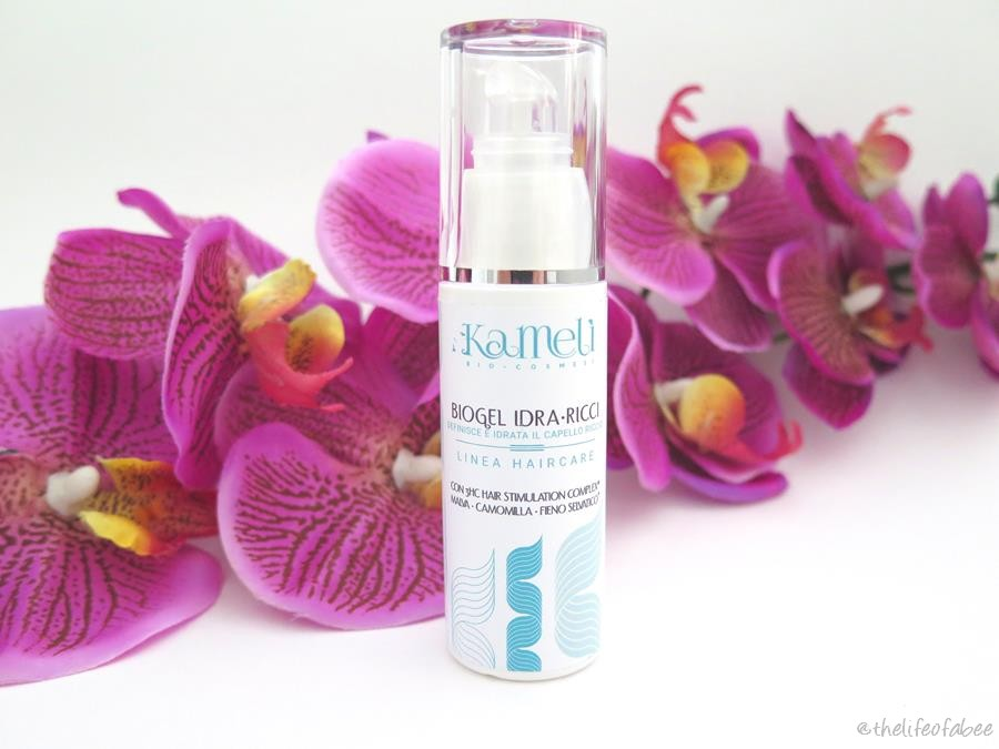 kamelì linea hair care recensione review bio gel idra ricci