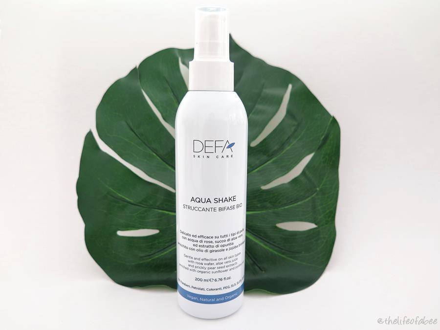 aqua shake defa cosmetics review recensione
