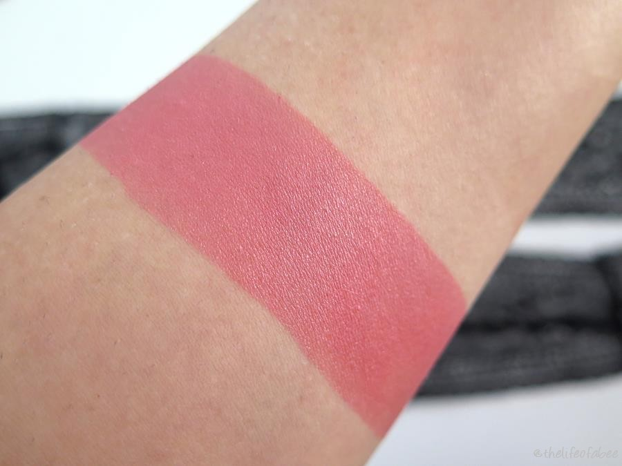 neogothic neve cosmetics blush court swatch