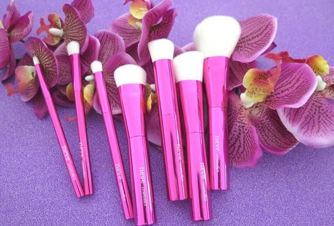 recensione review azalea brushes neve cosmetics