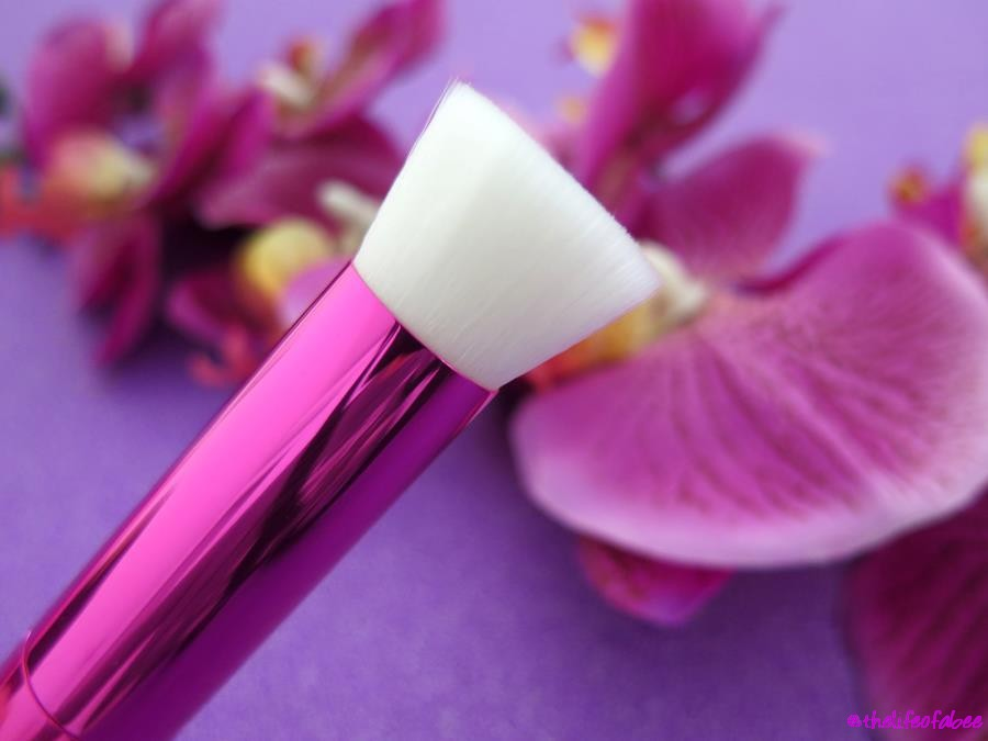 recensione review azalea flat brushes neve cosmetics
