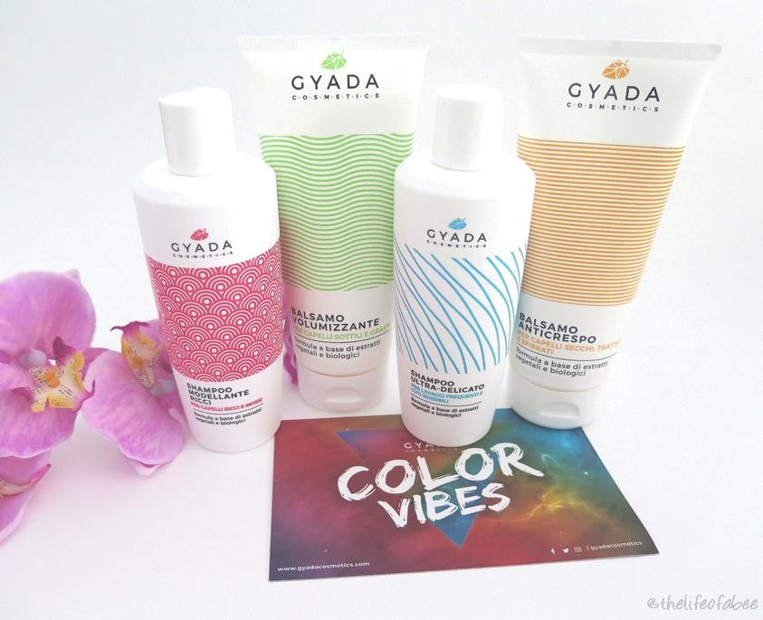 gyada cosmetics color vibes recensione review