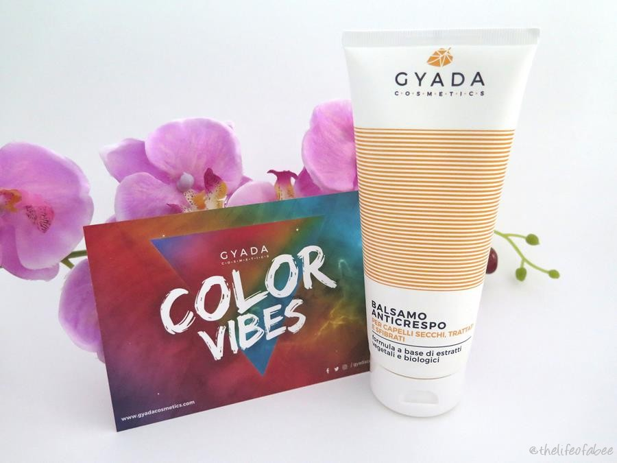 gyada cosmetics color vibes recensione review balsamo anticrespo
