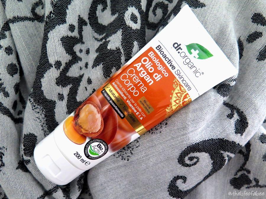 recensione dr organic crema corpo olio di argan review