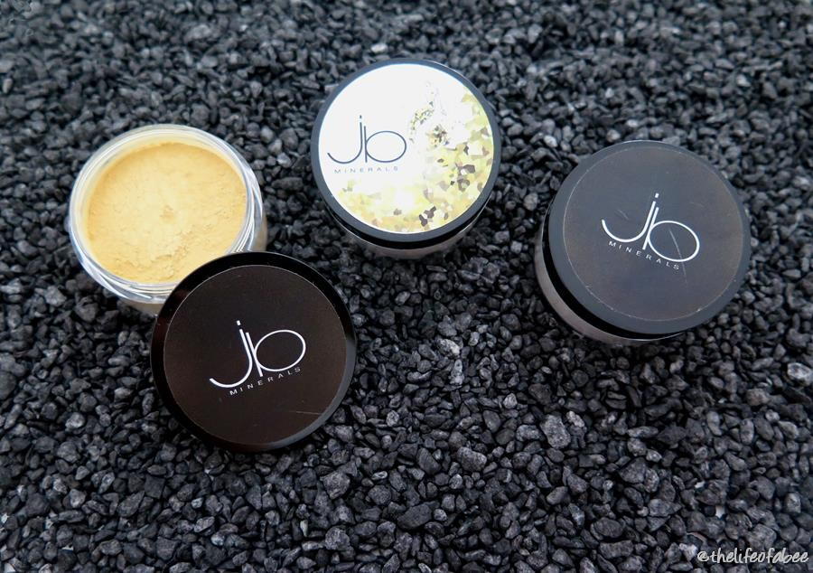 JB MINERALS MAKEUP MINERALE - REVIEW E SWATCHES