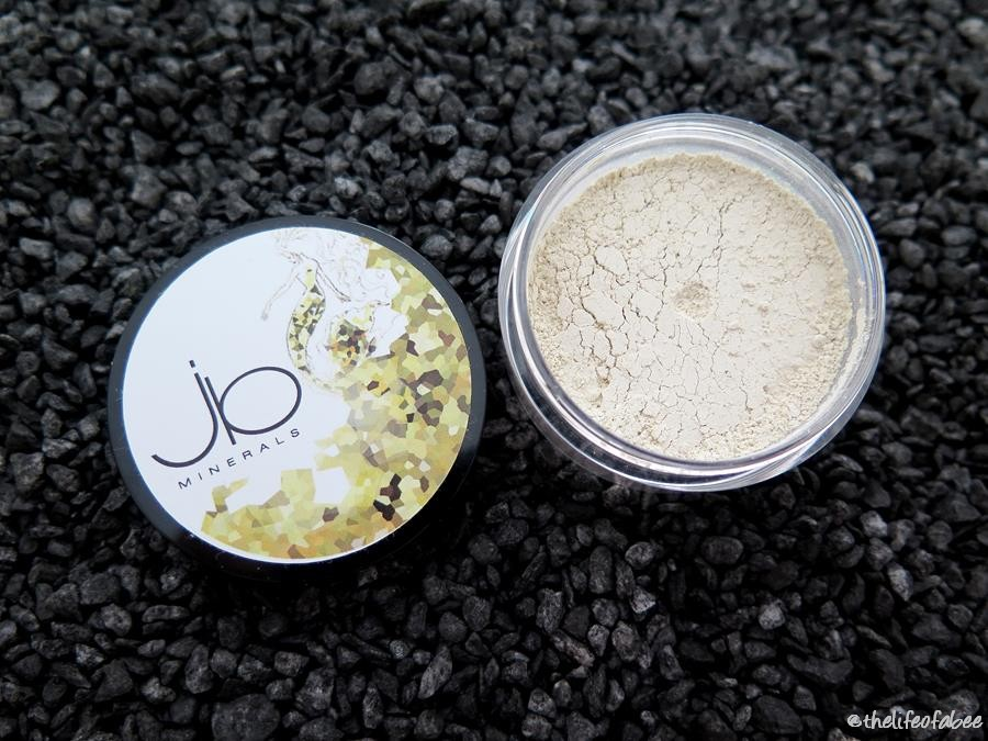 jb minerals recensione review swatch amber powder