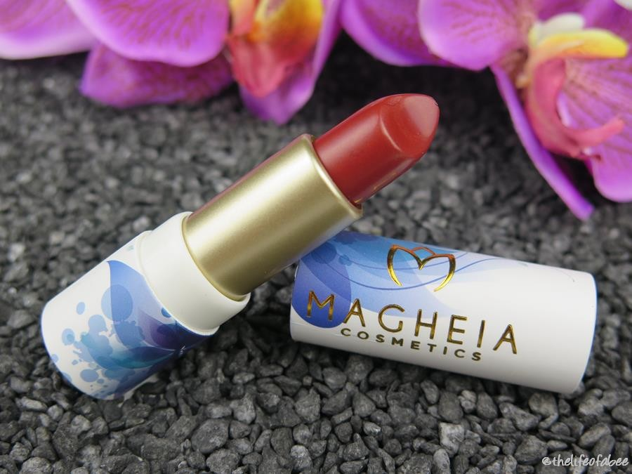 magheia cosmetics review swatch rossetto madame