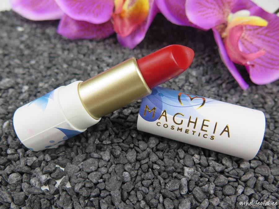magheia cosmetics review swatch rossetto magnifique