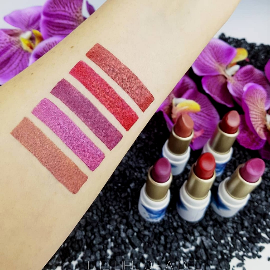 magheia cosmetics review swatch rossetti paris collection