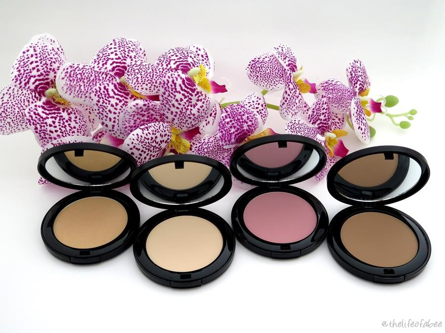 REVIEW E SWATCHES - FACE POWDERS NOUVEAU COSMETICS
