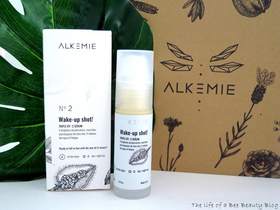 alkemie recensione review wake up shot