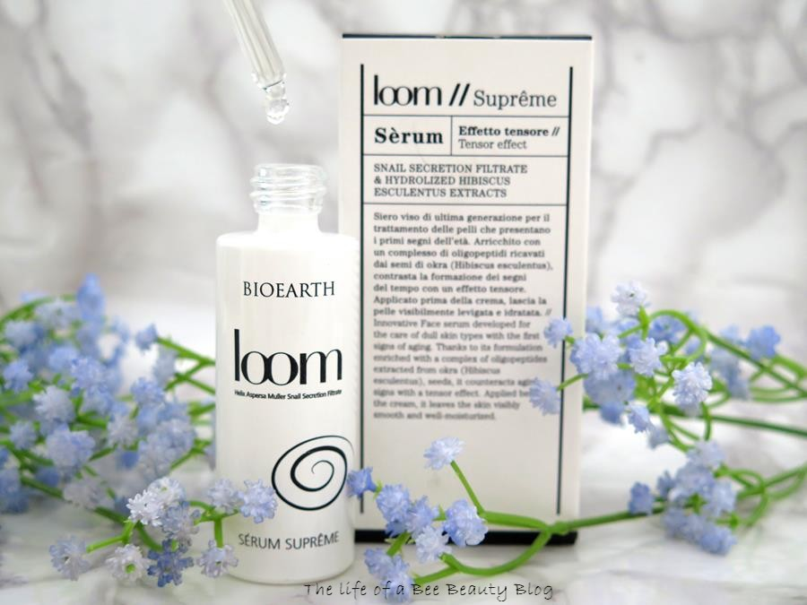 recensione linea loom bioearth supreme serum