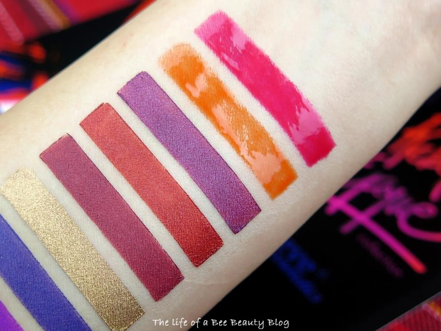 recensione swatches rebel epoque neve cosmetics