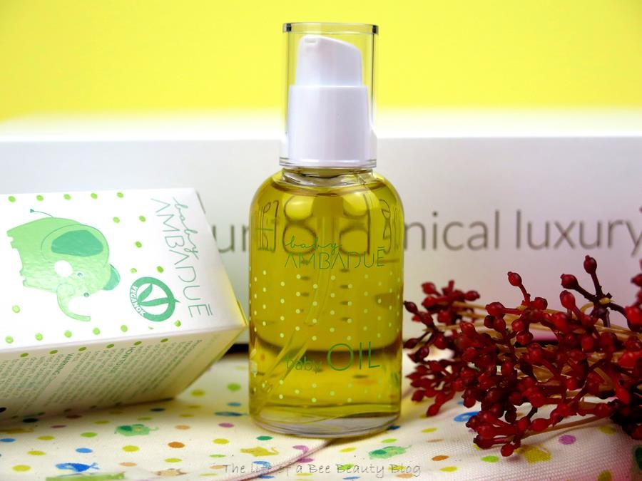 recensione linea baby ambaduè baby oil